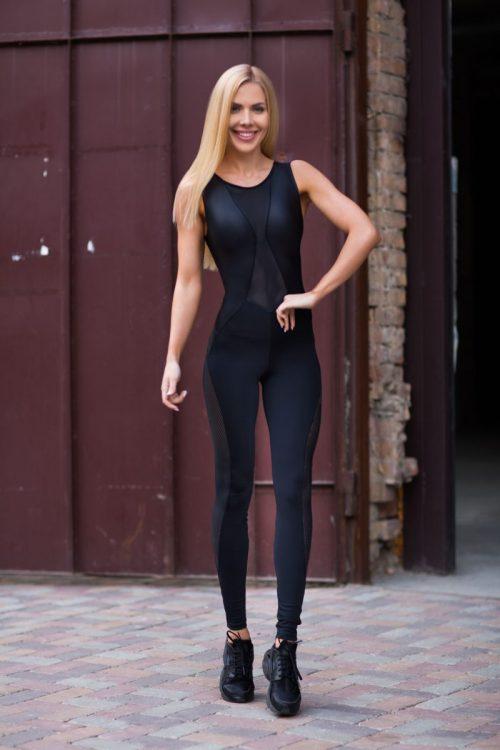 nuotrauka sportinio kombinezono Disco Black - Designed For Fitness
