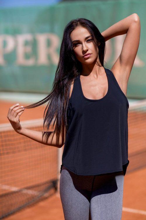 nuotrauka sportinės palaidinės Black - Designed For Fitness