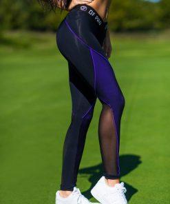 nuotrauka tamprės Pro Violet iš šono - Designed For Fitness