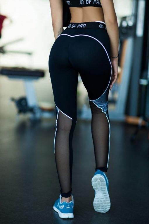 nuotrauka tamprių pro white iš nugaros - Designed For Fitness