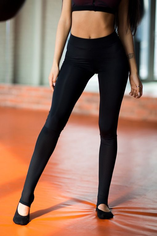 nuotrauka tamprės yoga total black - Designed For Fitness