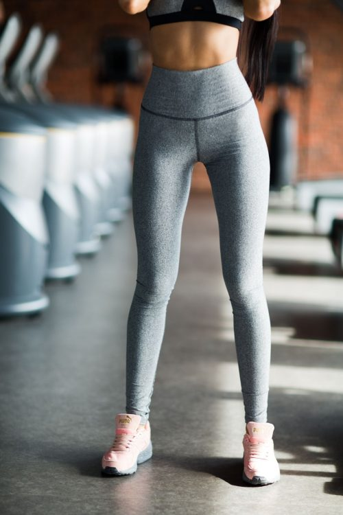nuotrauka tamprių Pro Jersey High Waist - Designed For Fitness