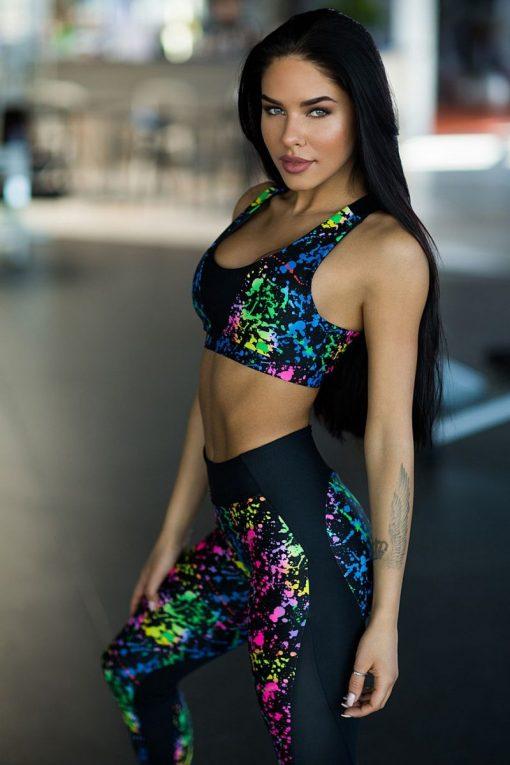 nuotrauka sportinės liemenėlės Toxic iš šono - Designed For Fitness