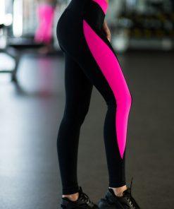 nuotrauka tamprių Basic Pink iš šono- Designed For Fitness