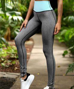 nuotrauka tamprių Jersey Freshmint iš šono - Designed For Fitness