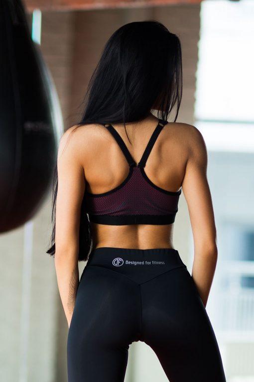 nuotrauka sportinės liemenėlės iš nugaros Paris Mesh - Designed For Fitness