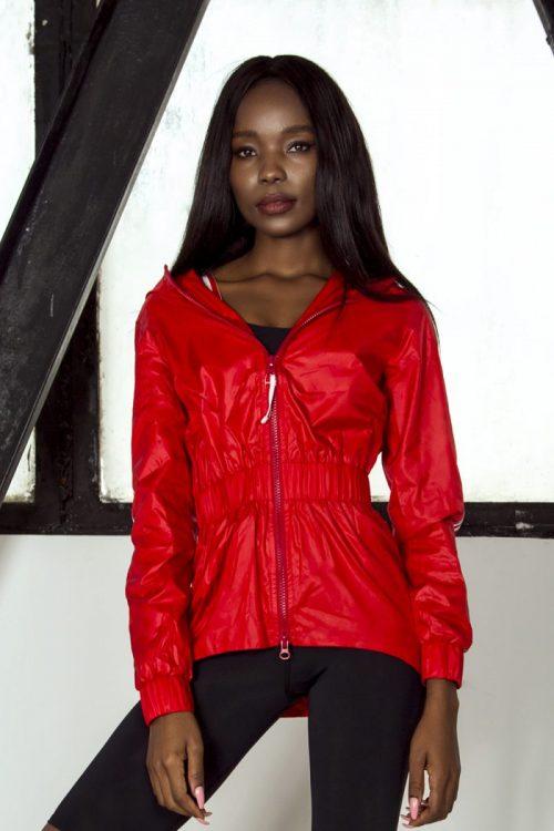 nuotrauka sportinės striukės Sport Red - Designed For Fitness