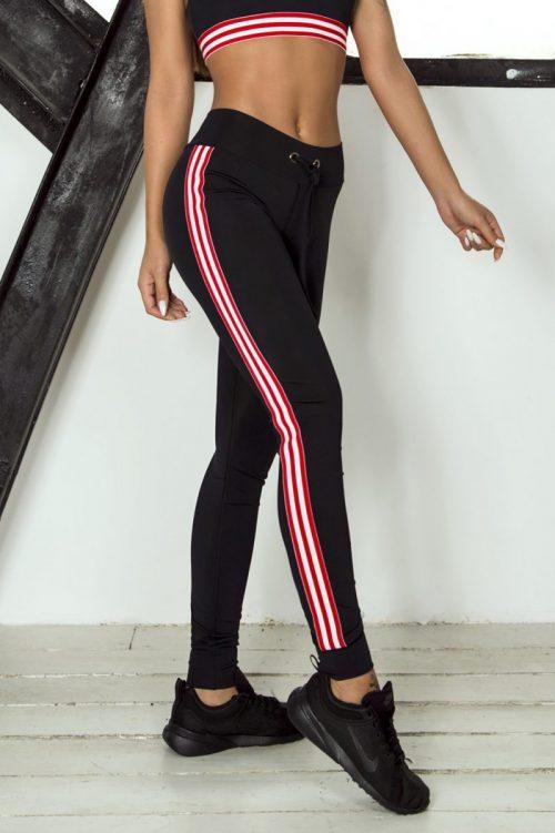 nuotrauka tamprių Sport Red iš šono - Designed For Fitness