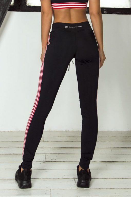 nuotrauka tamprių Sport Red iš nugaros - Designed For Fitness