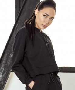 nuotrauka džemperio streetwear Black - Designed For Fitness