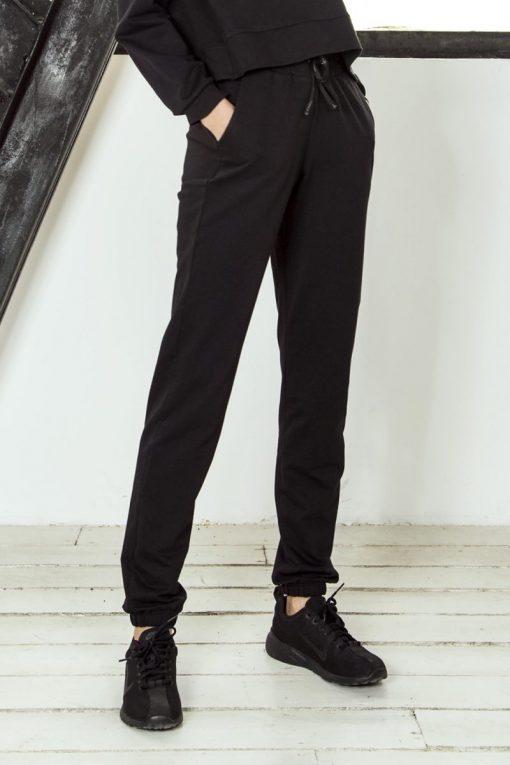 nuotrauka foto sportinių kelnių streetwear Black - Designed For Fitness