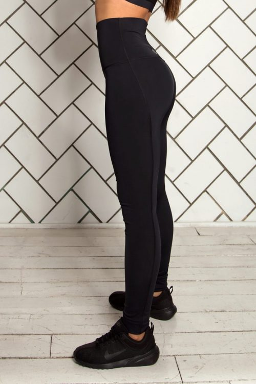 nuotrauka tamprių Super High Waist iš šono - Designed For Fitness
